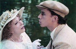 В 2003 году на большой экран вышел фильм «Благословите женщину» с участием Максима Галкина