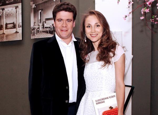 Пианист Денис Мацуев с женой Екатериной Шипулиной, прима-балериной Большого театра