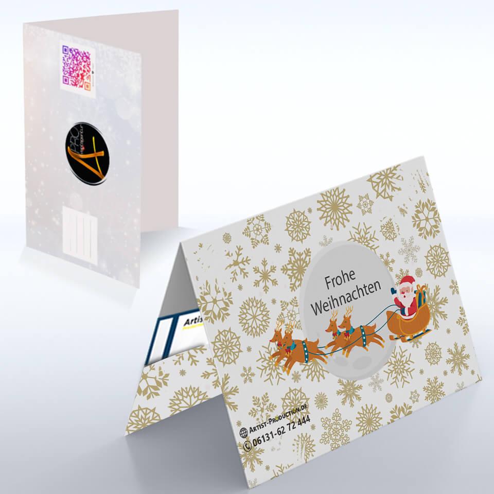 Подарочные конверты на Рождество