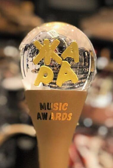 Награда премии ЖАРА Music Awards, которая вручается победителям по итогам открытого голосования