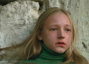 Первую свою роль в кинокарьере Кристина Орбакайте исполнила в фильме «Чучело», с которой блестяще справилась