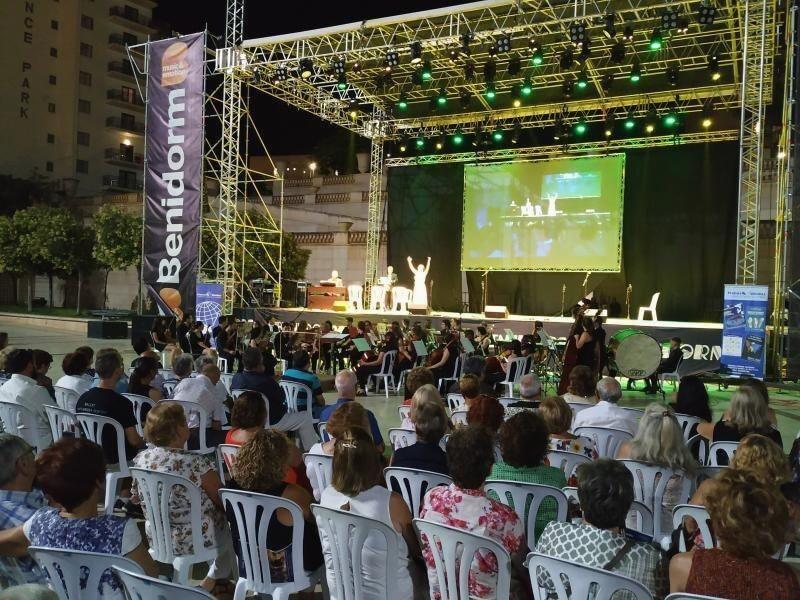 Место проведения фестиваля Kislorod Live в Испании – Auditorio Julio Iglesias в парке L'aguiera города Бенидорма, фото 2