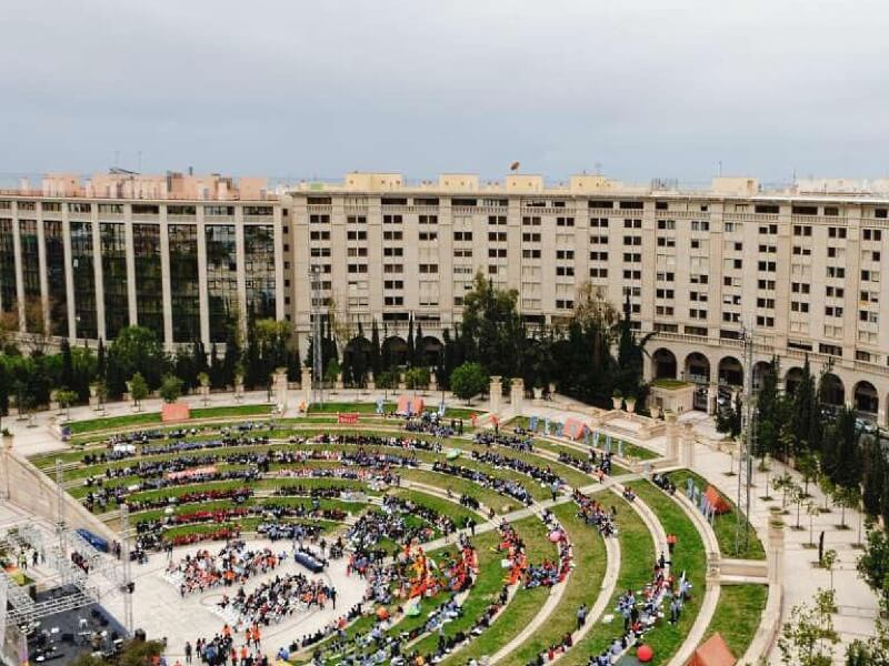 Место проведения фестиваля Kislorod Live в Испании – Auditorio Julio Iglesias в парке L'aguiera города Бенидорма, фото 5