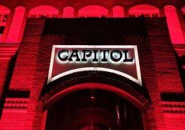 Залы Capitol Theater в Дюссельдорфе в каталоге концертных площадок на сайте агентства Artist Production