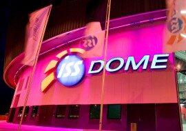 Зал ISS DOME в Дюссельдорфе в каталоге концертных площадок на сайте агентства Artist Production