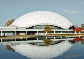 Зал Jahrhunderthalle во Франкфурте-на-Майне в каталоге концертных площадок на сайте агентства Artist Production