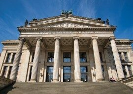 Konzerthaus Berlin, концертный зал на площади Жандарменмаркт, в каталоге концертных площадок на сайте агентства Artist Production
