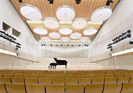 Зал Университета искусств Берлина в каталоге концертных площадок на сайте агентства Artist Production