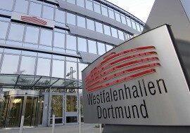 Залы Westfalenhallen в Дортмунде в каталоге концертных площадок на сайте агентства Artist Production